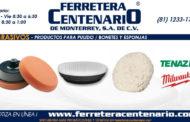 Bonetes y esponjas - Productos para pulido