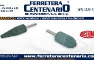 Puntas montadas - Verdes para piedras  y no ferrosos
