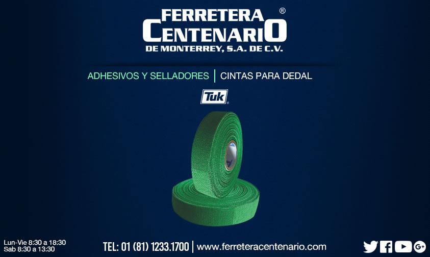 cintas dedal ferretera centenario monterrey mexico herramientas
