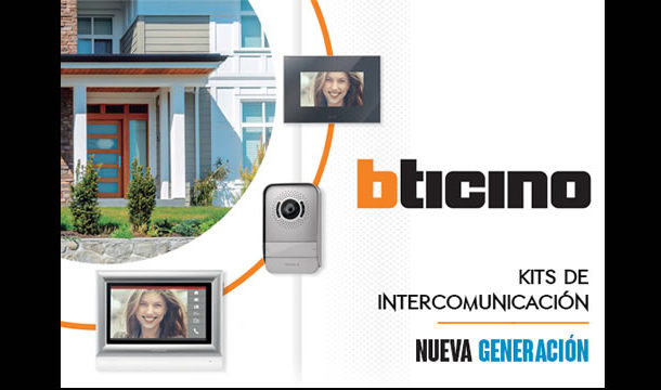 Kits de intercomunicación marca bticino