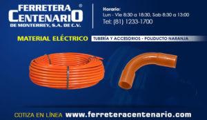 poliducto naranja tuberias accesorios Mexico Ferretera centenario mmonterrey material electrico