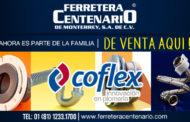 Productos Coflex de venta en Ferretera Centenario de Monterrey