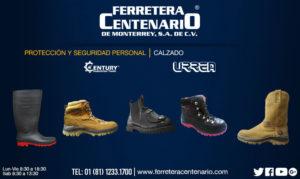 calzado proteccion seguridad personal mexico ferretera centenario monterrey zapatos casquillo electricos botas
