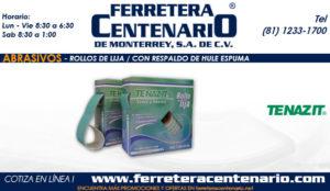 hule espuma ferretera centenario monterrey mexico abrasivos rollos lija hule espuma