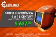 Careta electrónica 9 a 13 Century
