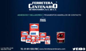 pegamentos adhesivos selladores amarillos contacto resistol ferretera centenario monterrey mexico