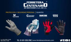 guantes proteccion seguridad personal ferreteracentenario monterrey mexico equipo