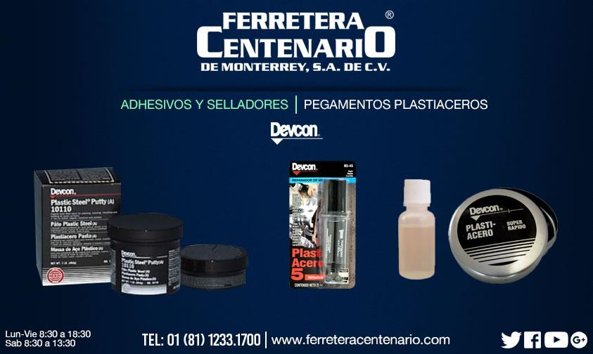 pegamentos plastiaceros adhesivos selladores ferretera centenario monterrey mexico