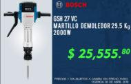 Martillo demoledor Bosch a un super precio