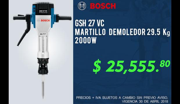 martillo demoledor Bosch descuento precio bajo ferretera centenario monterrey