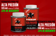 Pegamentos para PVC alta presión marca Furia con descuento