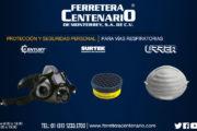 Protección y seguridad personal para vías respiratorias