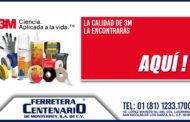 La calidad de 3M de venta en Ferretera Centenario