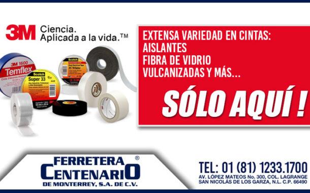 Aislantes 3M de venta en Ferretera Centenario
