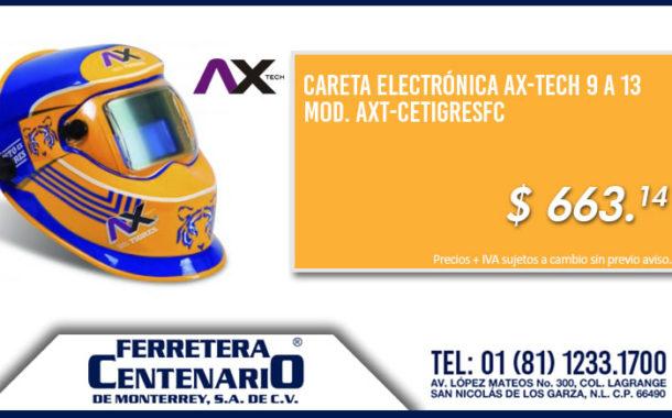Careta electrónica AX-TECH del Equipo TIGRES a un super precio