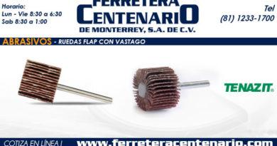 ruedas flap vastago ferretera centenario monterrey mexico abrasivos