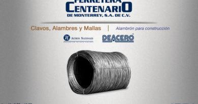 alambre alambron construccion ferretera centenario monterrey mexico