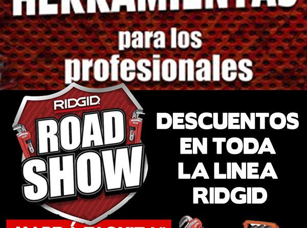 ridgid road show ferretera centenario monterrey mexico