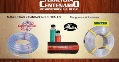 mangueras industriales bandas Gates Surtek Grupo Boro ferretera centenario monterrey mexico