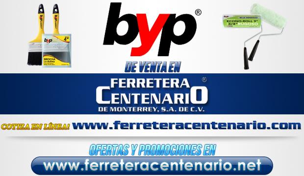 Byp » Tienda de Herramientas - Ferretera Centenario - La Ferretería más grande de Monterrey