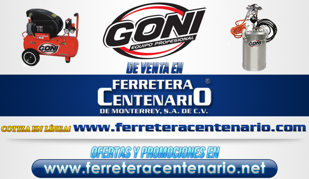 Equipo profesional Goni venta en Monterrey
