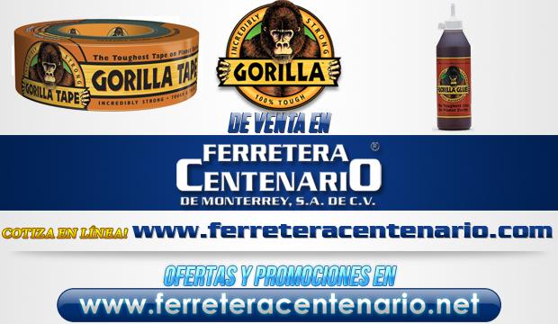 Gorilla tape and Glue venta Monterrey