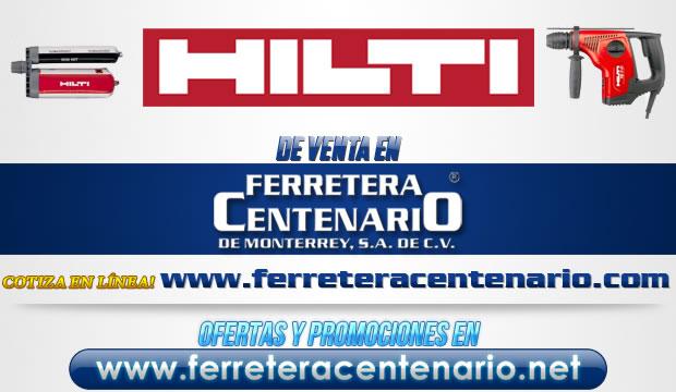 herramientas Hilti venta Monterrey