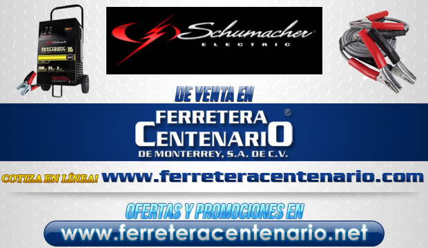 Schumacher Electric venta Monterrey MExico