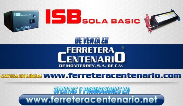 ISB Sola Basic venta Monterrey Mexico