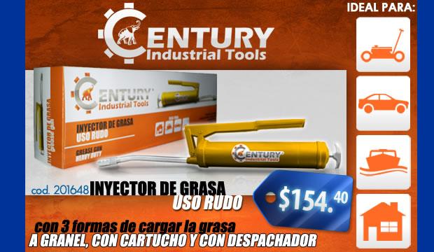 inyector de grasa uso rudo century industrial tools ferretera centenario monterrey