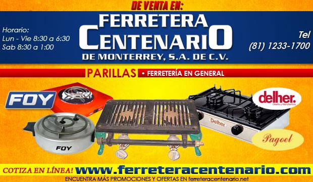 parrillas, venta en Monterrey, ferreteria, Foy, Delher, Pagoel