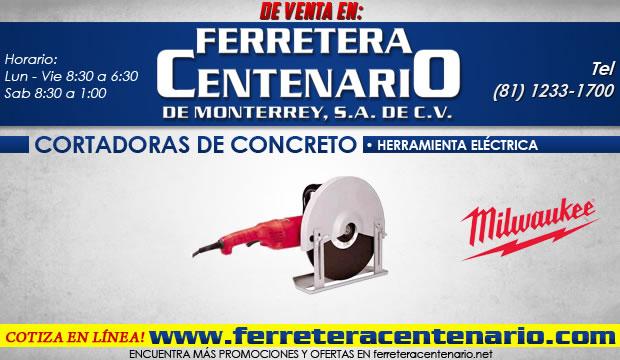cortadoras de concreto ferretera centenario herramienta electrica