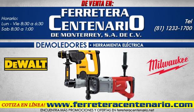 demoledores ferretera centenario herramientas electricas monterrey