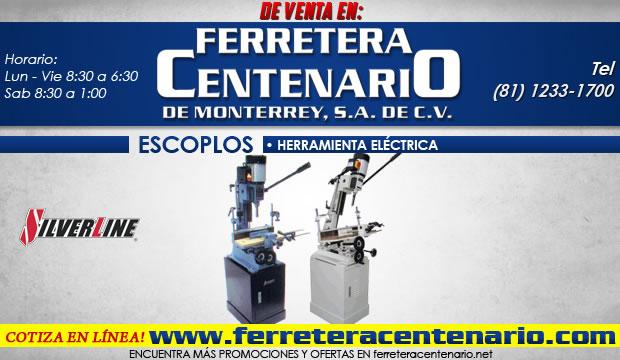 escoplos silverline feretera centenario herramientas electricas