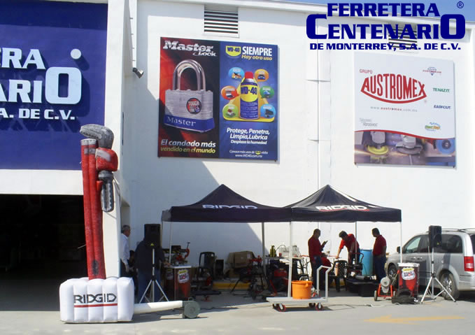 road show ridgid herramientas ferretera centenario de monterrey