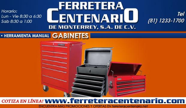 gabinetes para herramientas ferretera centenario de monterrey
