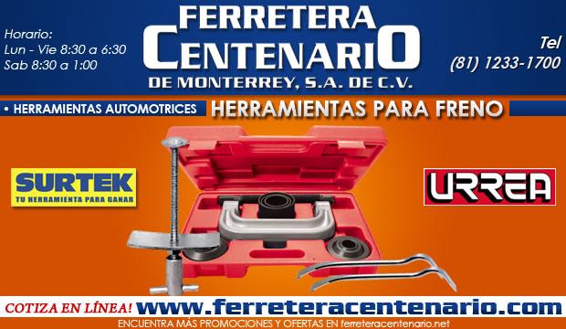 herramientas automotrices para freno ferretera centenario de monterrey