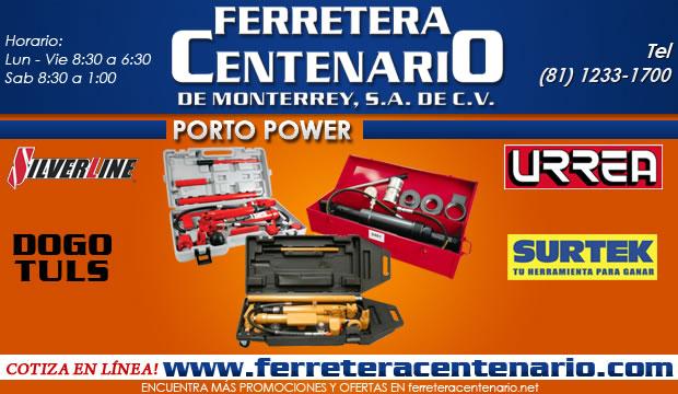 porto power ferretera centenario de monterrey dogotuls urrea surtek silverline herramientas manuales