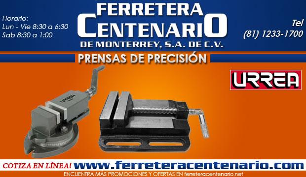 prensas de precision erramientas manuales ferretera centenario de monterrey