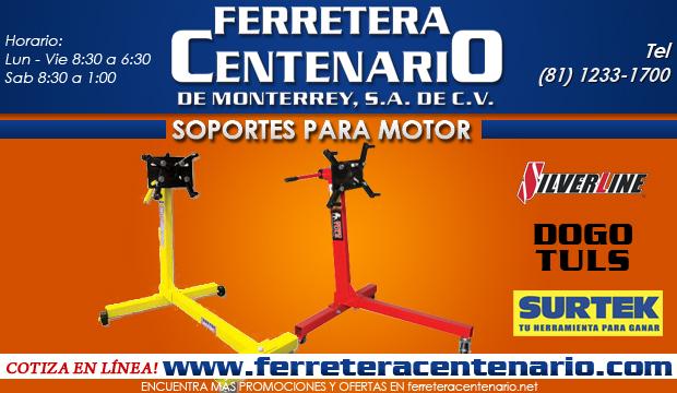 soportes para motor motores ferretera centenario de monterrey herramienta manual