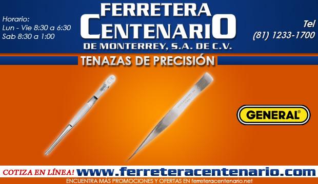 tenazas de precision ferretera centenario de monterrey herramientas manuales