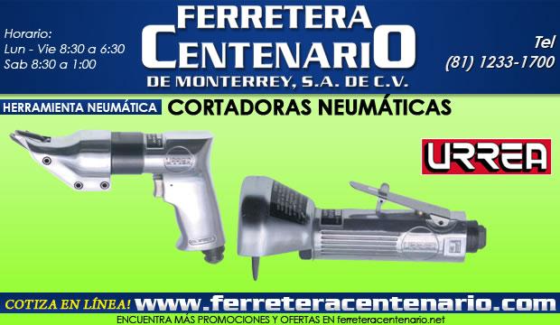 cortadoras neumaticas urrea ferretera centenario de monterrey herramientas