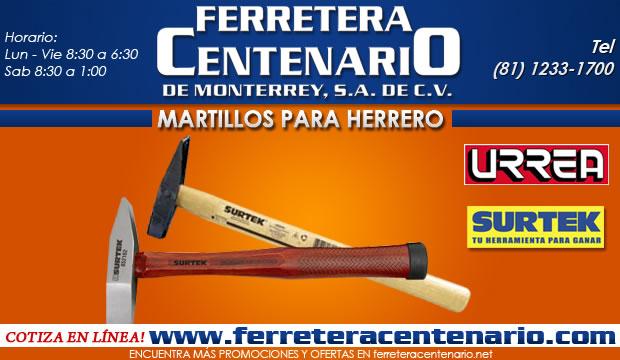 martillos para herrero herramientas ferretera centenario de monterrey