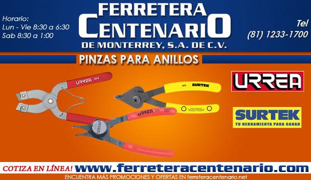 pinzas para anillos ferretera centenario de monterrey herramientas