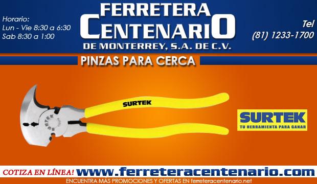 pinzas para cerca surtek ferretera centenario de monterrey herramientas manuales