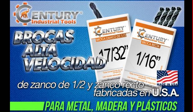 brocas alta velocidad centur industrial tools ferretera centenario de monterrey herramientas