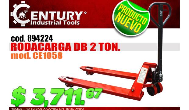 rodacarga ferretera centenario de monterrey herramientas oferta 2 toneladas