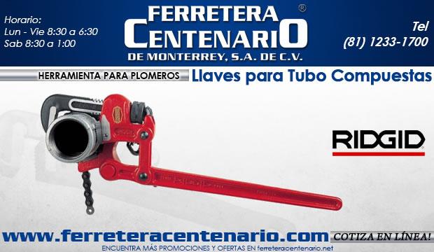 llaves para tubo compuestas ferretera centenario de monterre los meores precios de herramientas