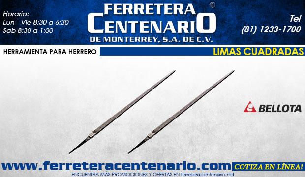 limas cuadradas herramientas herrero herreria ferretera centenario de monterrey