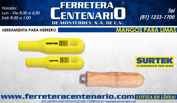 mangos para limas ferretera centenario de monterrey herramientas surtek